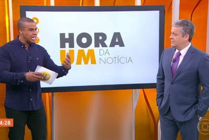 Thiago Oliveira fala sobre racismo com Roberto Kovalick no 'Hora Um'