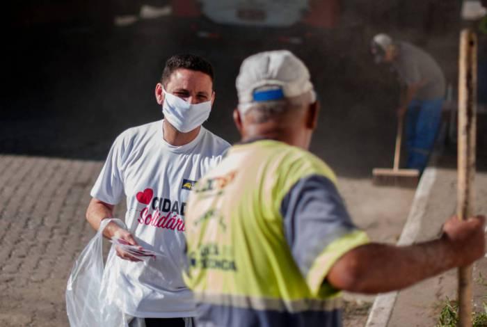 Prefeitura já distribuiu mais de 60 mil máscaras para a população de Volta Redonda