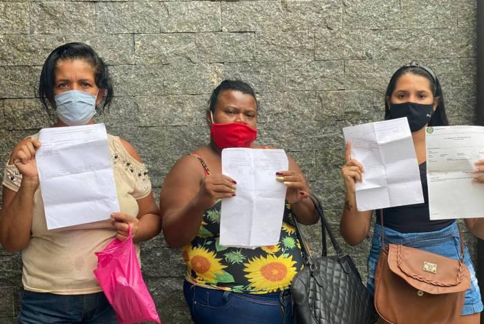 Zoraide Granato, moradora de Cordovil, Juliana da Silva, do Jardim América e Josélia Mara Alves, de Parada de Lucas, ganharam o benefício, cada uma num valor, por meio do bolsa-família que já recebiam