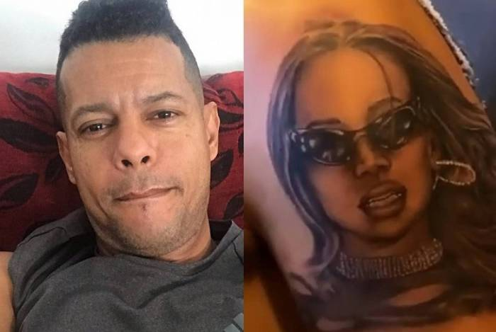 Mc Andinho vai cobrir a tatuagem que fez em homenagem à Anitta