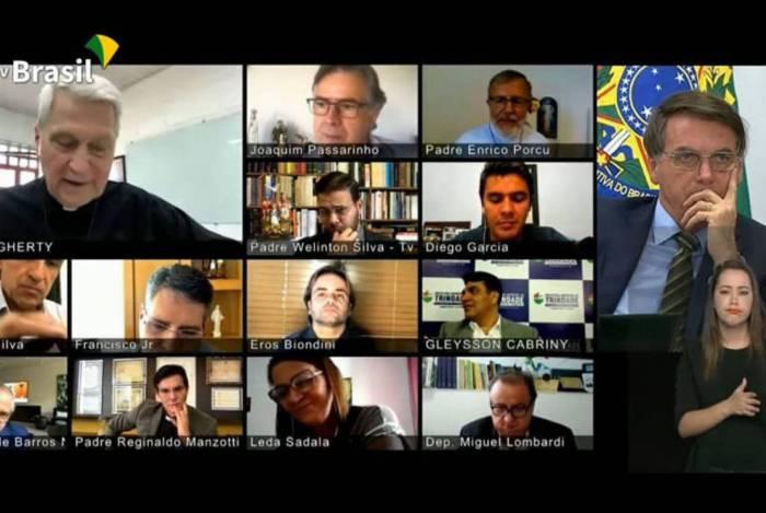 Proposta foi feita no último dia 21, em videoconferência com a participação de Bolsonaro, sacerdotes, parlamentares e representantes de grupos católicos