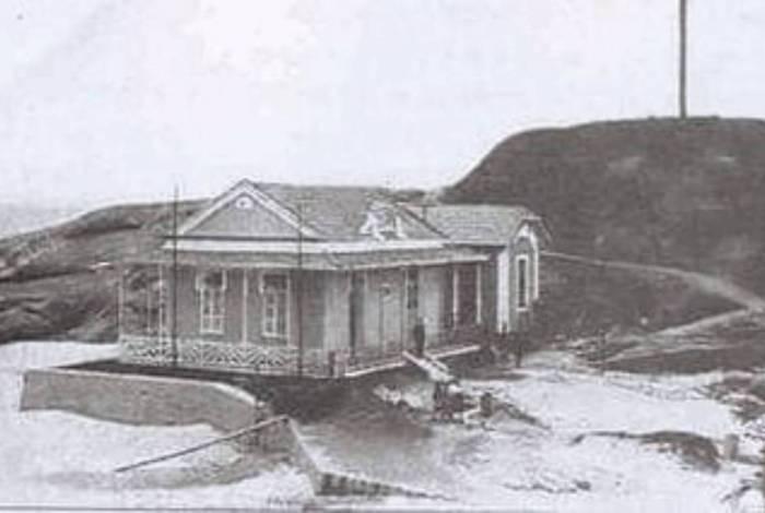 Casa na pedra do Arpoador existiu de 1922 a final da década de 1960