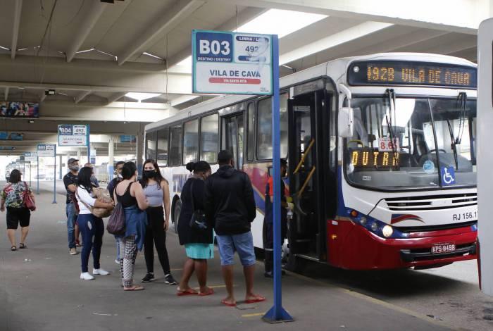 Terminal Américo Fontenelle, na Central do Brasil