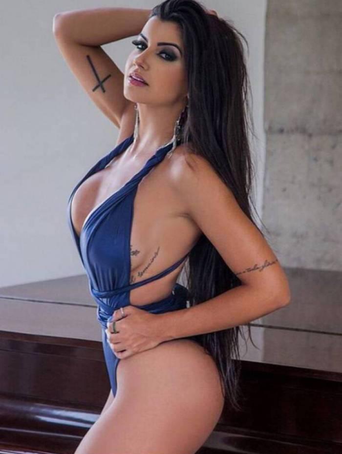 Camila Campos é musa do Cruzeiro