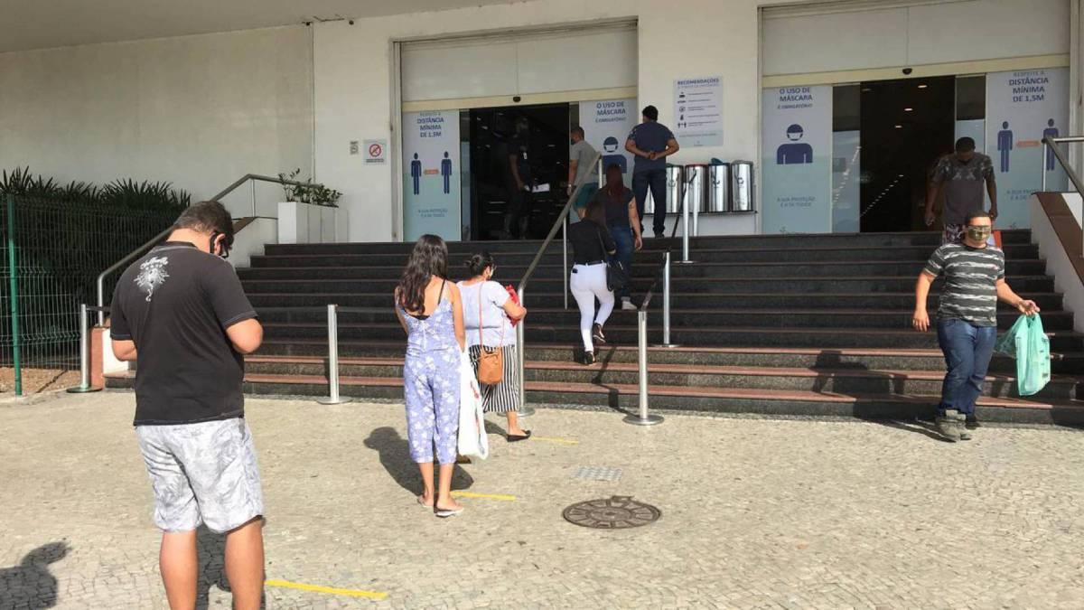 Abertura do shopping Sao Gonçalo, nesta quinta feira