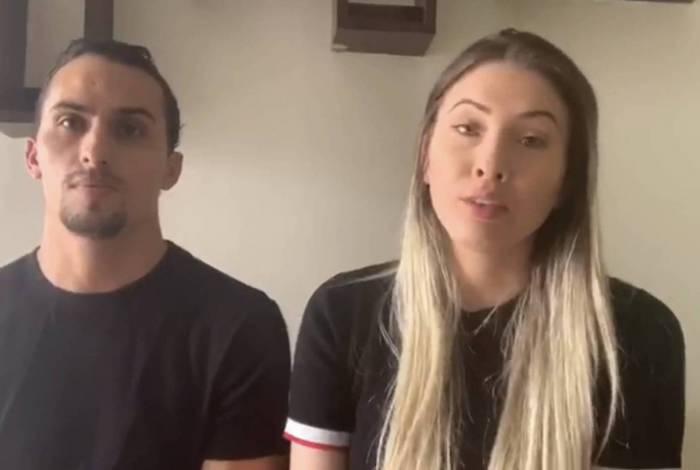 O casal Maílson e Anne Alves foi para as redes sociais pedir ajuda