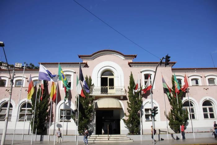 Sede da Prefeitura de Nova Friburgo, no Centro