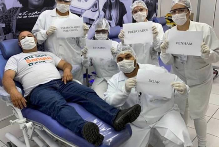 Centro de Transfusão precisa de doadores de sangue de todos tipos