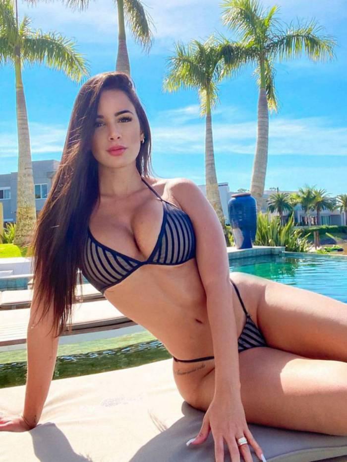 Nathália Felix, namorada de Douglas Costa