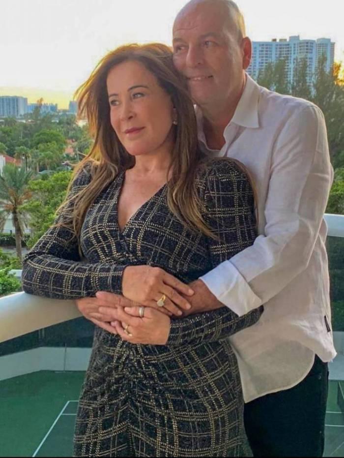 Zilu Camargo e o novo namorado Antônio Casagrande