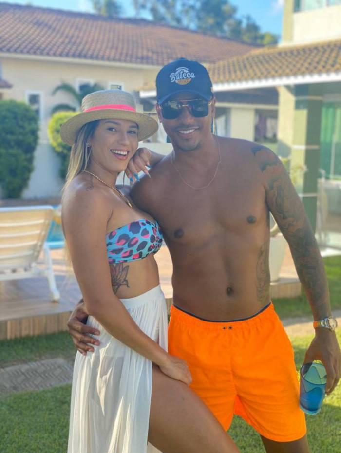 Milena Bemfica e Tiago Santos