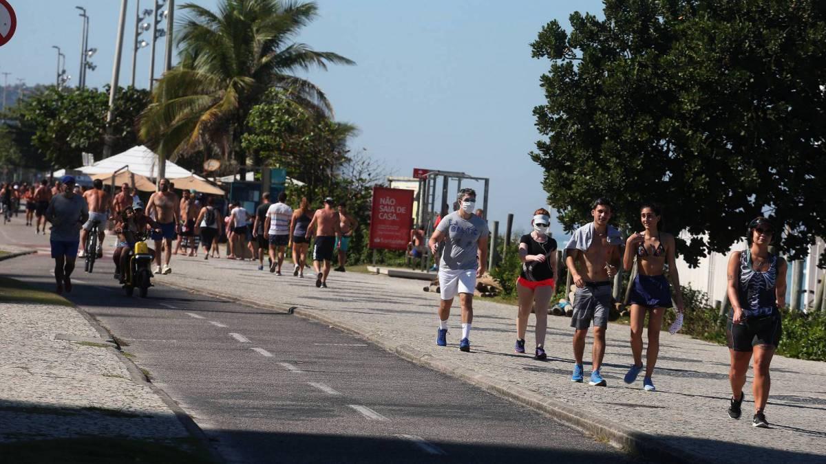 Circulação normal de pessoas, na Barra