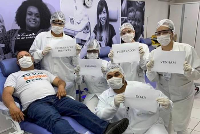 Segundo dados do Ministério da Saúde, apenas 1,8% da população brasileira se dispõe a doar sangue, enquanto o ideal seriam 5%