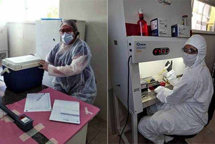 Testes são feitos no laboratório do Nupem/UFRJ