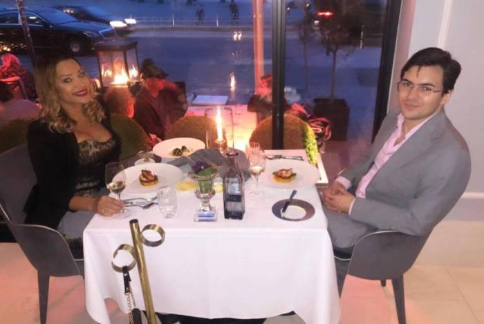 Ana Paula Evangelista reecontra o marido Marco, na Dinamarca