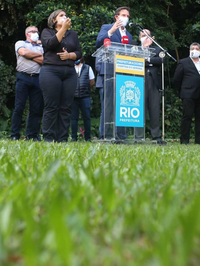 Torcedor alvinegro, Crivella pediu que a federação não puna os clubes que não jogarem em meio à pandemia