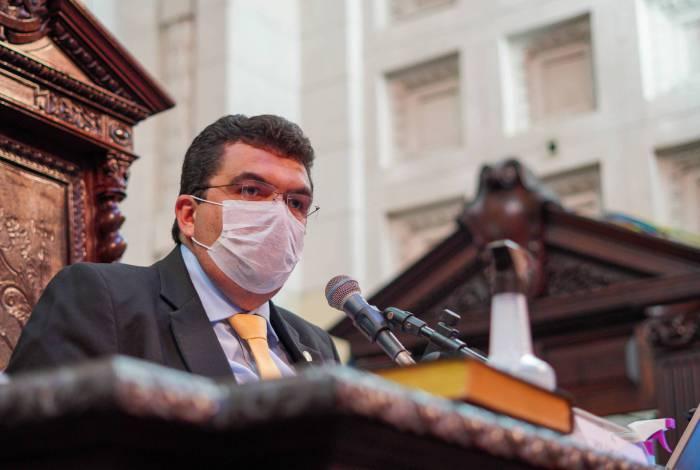 Deputado Chico Machado presidiu na tarde desta quinta-feira (18) a reunião da comissão na Alerj
