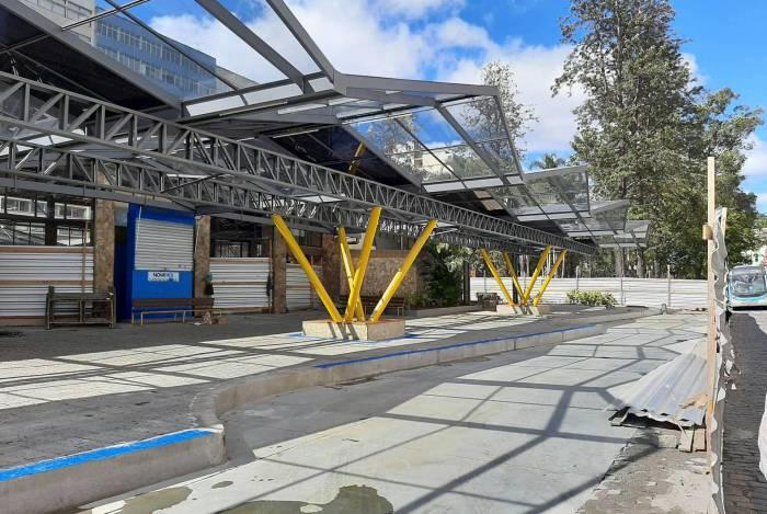 Estação Livre, em Nova Friburgo, é um dos principais pontos de embarque e desembarque de passageiros no Centro