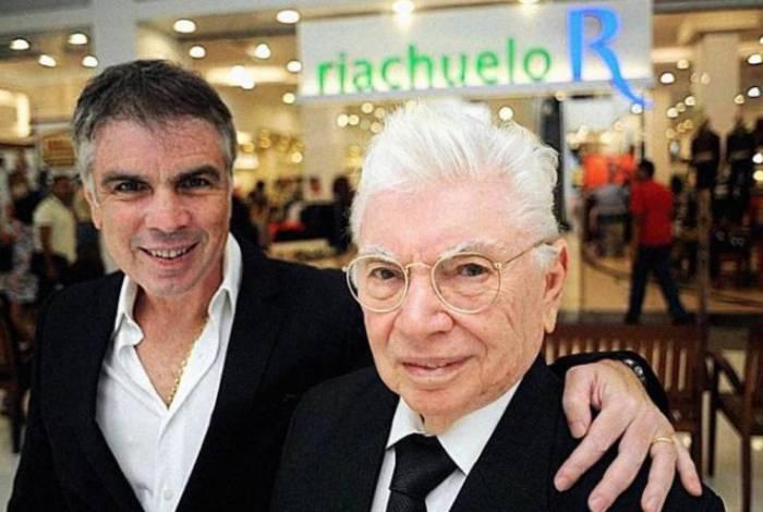 Nevaldo Rocha e o filho Flávio