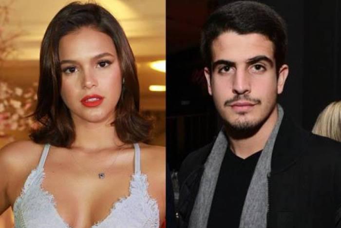 Bruna Marquezine debocha de boatos sobre affair com Enzo Celulari