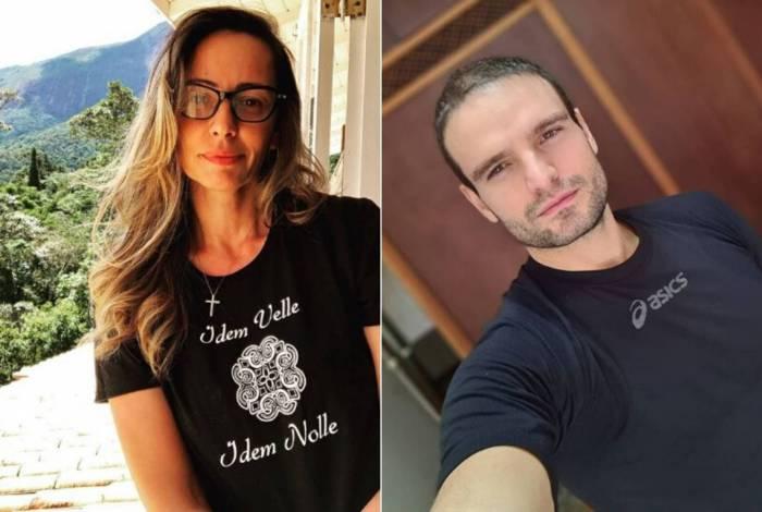 Ana Paula Henkel e Alexandre Alvim