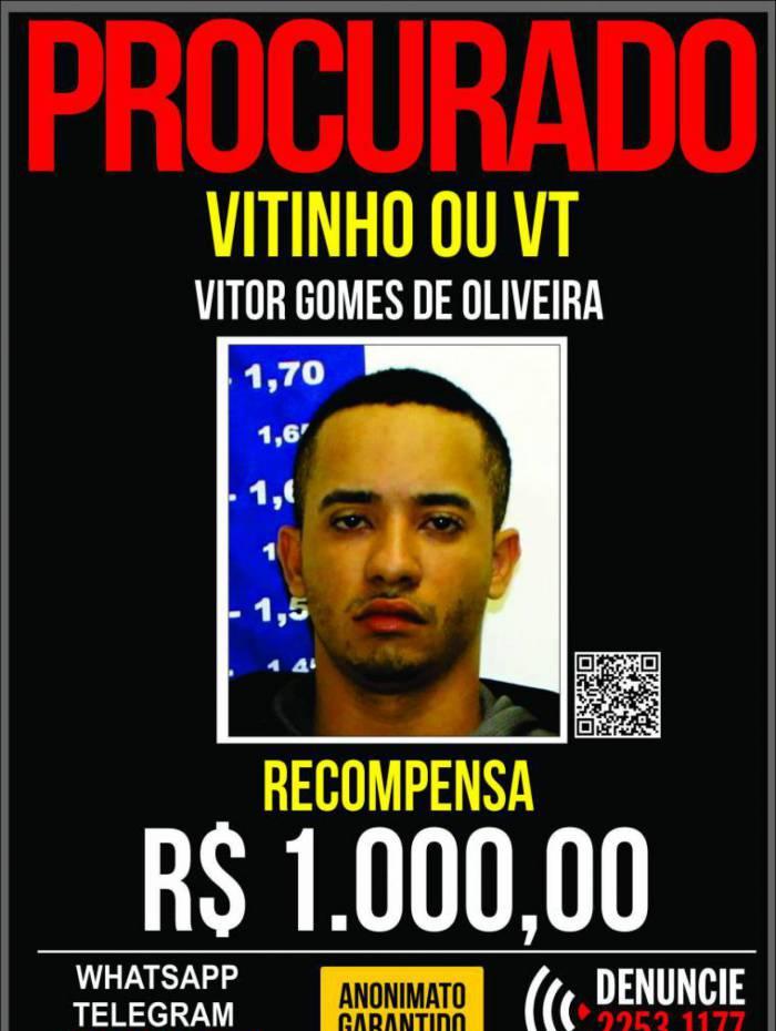 Vitinho ou VT é acusado por crime que aconteceu na Amendoeira