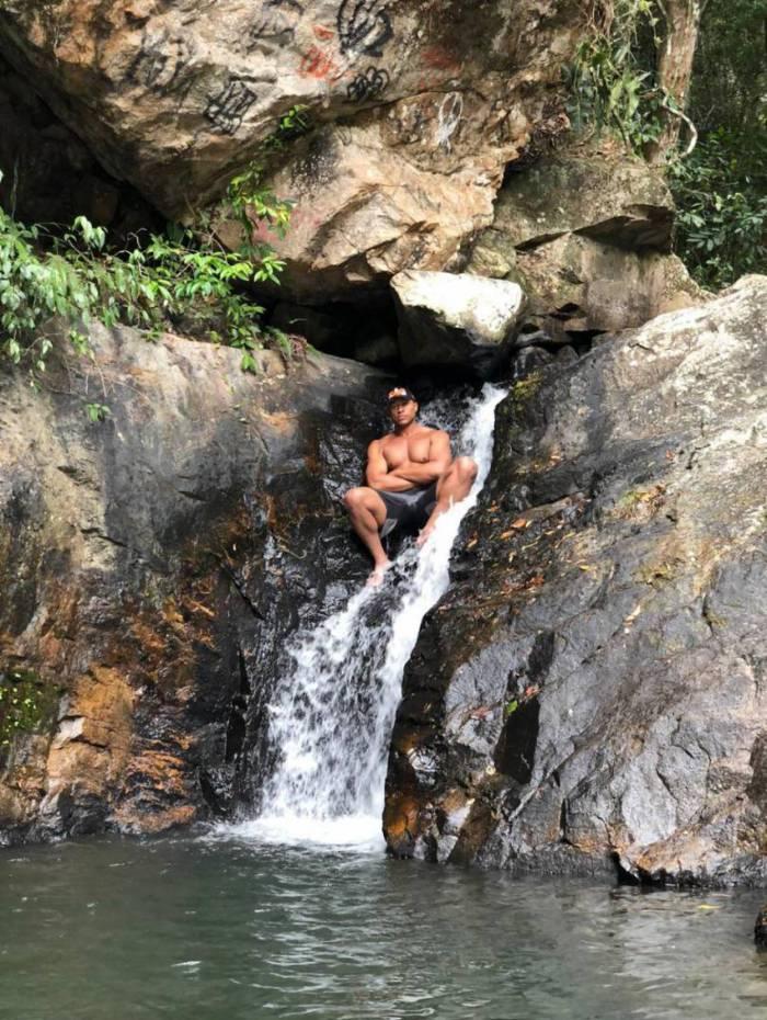 Caio Portela, morador de Nova Iguaçu, é uma dos apaixonados pelo parque