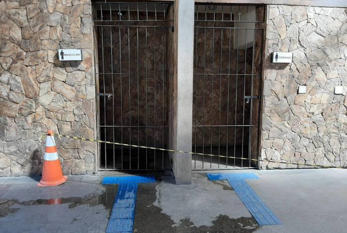 Sanitários públicos da Estação Livre estão interditados
