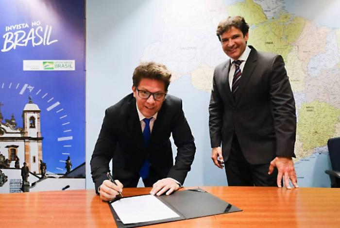 Mário Frias toma posse na Secretaria Especial de Cultura