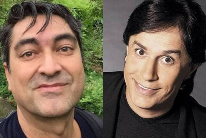 Zeca Camargo e Tom Cavalcante