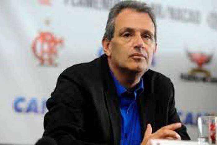 Luiz Eduardo Baptista, o Bap, é o vice-presidente de Relações Externas do Flamengo