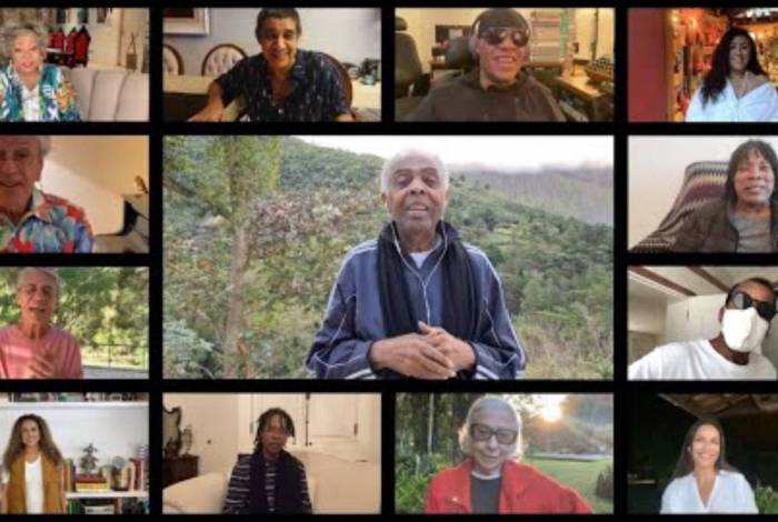 Gilberto Gil comemora aniversário com vídeo