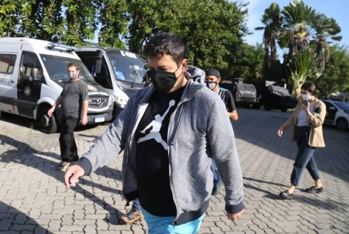O empresário Mauro Braga foi o único preso durante a operação