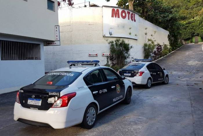Homem foi preso em motel