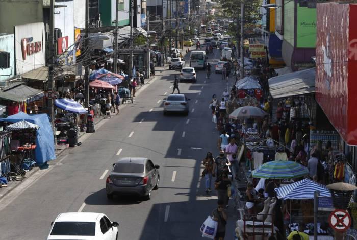 O comércio do Rio de Janeiro e o problema de mercadorias roubadas.