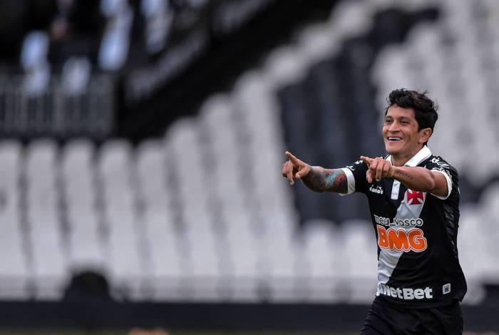 Germán Cano é a esperança de gols do Vasco para hoje à noite
