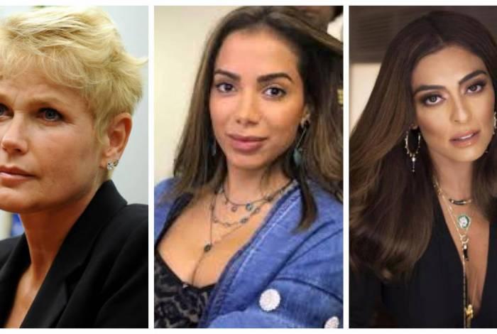 Xuxa, Anita e Juliana Paes