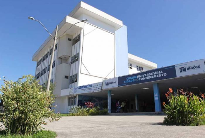 O Colégio de Aplicação (CAp) passou a funcionar este ano na Cidade Universitária, em Macaé