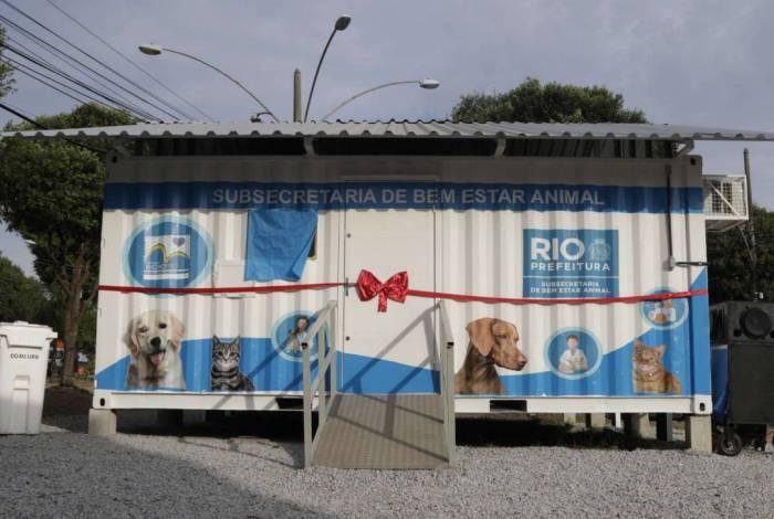 Unidade, situada na rua Cabo Bastos Cortes, é uma das quatro existentes na Zona Oeste da cidade