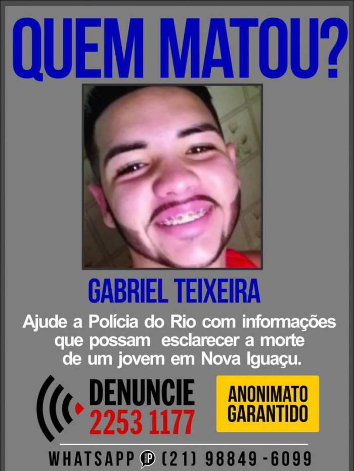 Polícia procura por informações que possam levar a prisão de dois homens envolvidos na morte de entregador de hamburgueria, em Nova Iguaçu