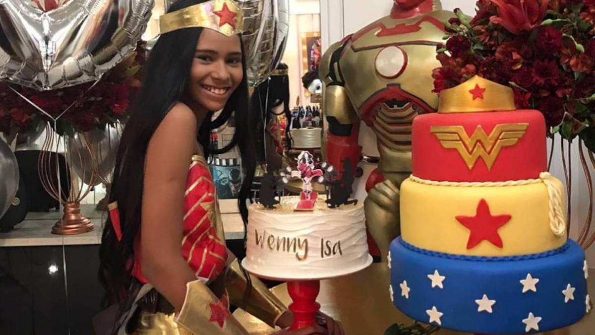Festa de aniversário de Wenny Isa, irmã da cantora Lexa