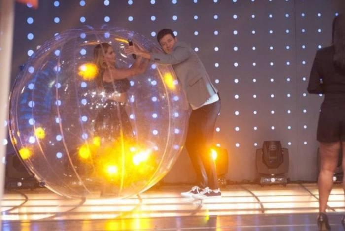 Dançarina com Rodrigo Faro
