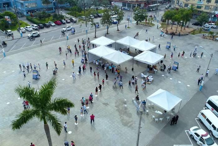 Mutirão realiza centenas de testes rápidos na população de São João de Meriti