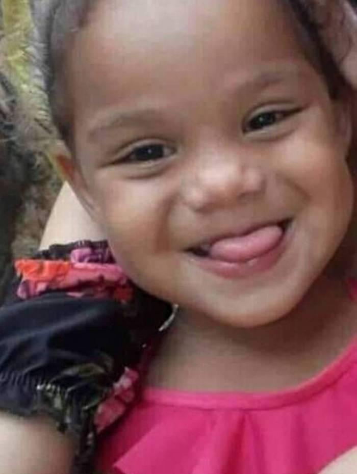 Maria Alice tinha apenas 4 anos e foi baleada em festa em Três Rios