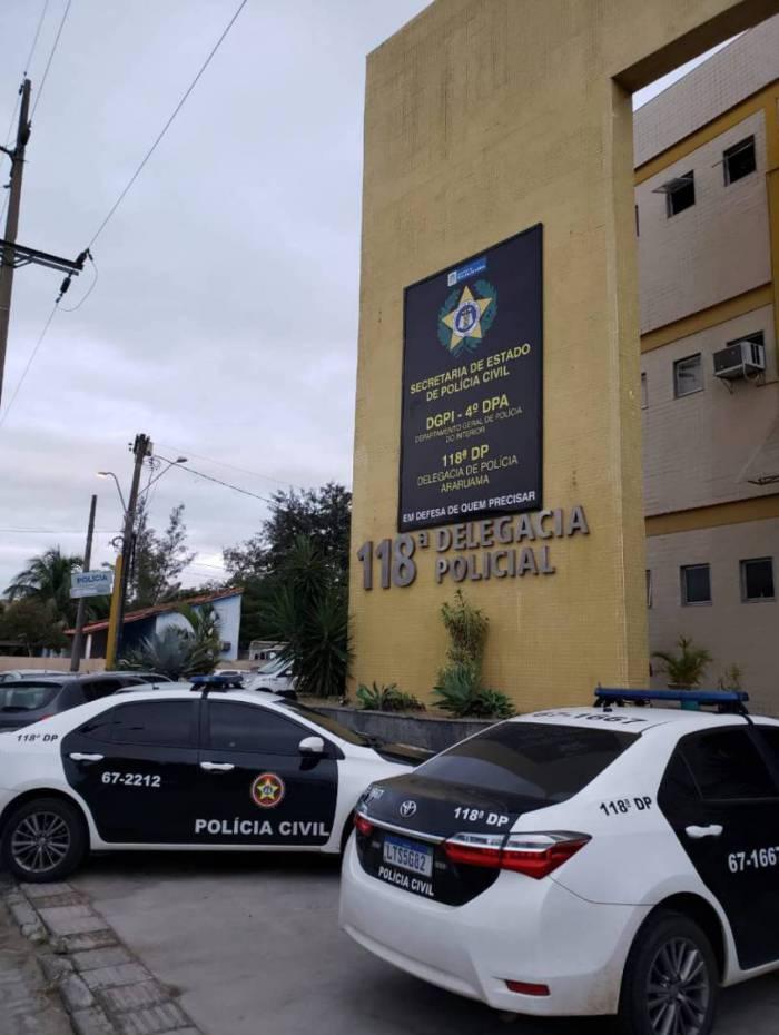O criminoso foi preso e encaminhado a 118ª DP (Araruama), onde responderá pelo crime