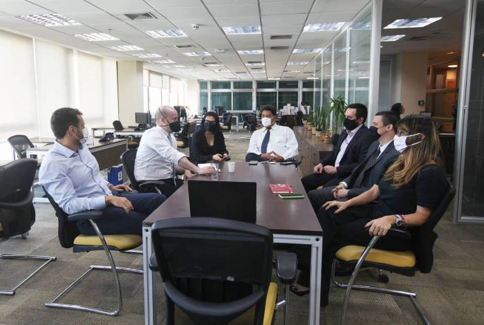 Subsecretários da Sefaz estão agora no mesmo andar do gabinete do titular da pasta, Guilherme Mercês