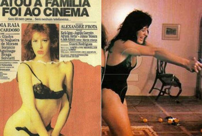 Claudia Raia no filme 'Matou a família e foi ao cinema'