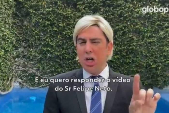 Marcelo Adnet bomba com imitação de Trump