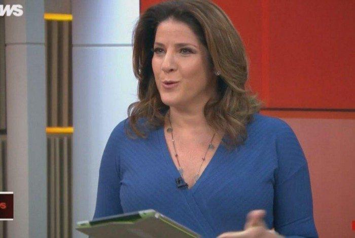 Christiane Pelajo é uma das apresentadoras do 'Edição das 16h'