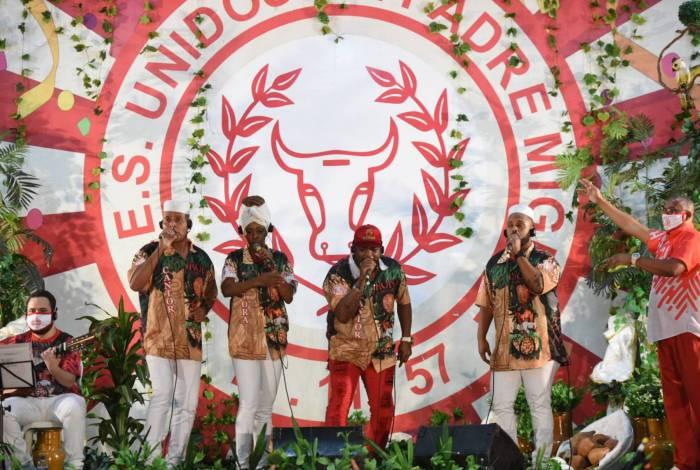 Restam agora cinco concorrentes na final do hino da Unidos de Padre Miguel para o carnaval de 2021